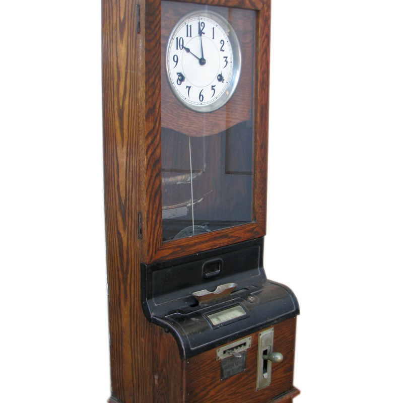 Arts & Crafts  Time Clock F9635