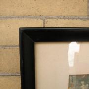 Arts & Crafts  Woodblock Print F9680