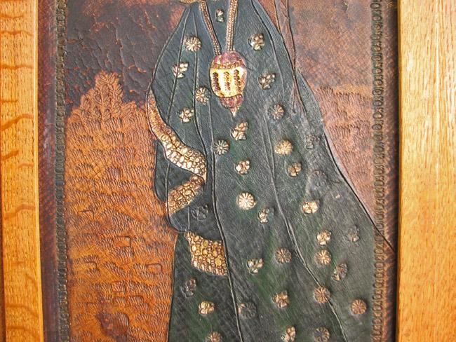 Rare Arts & Crafts Room Divider F9821