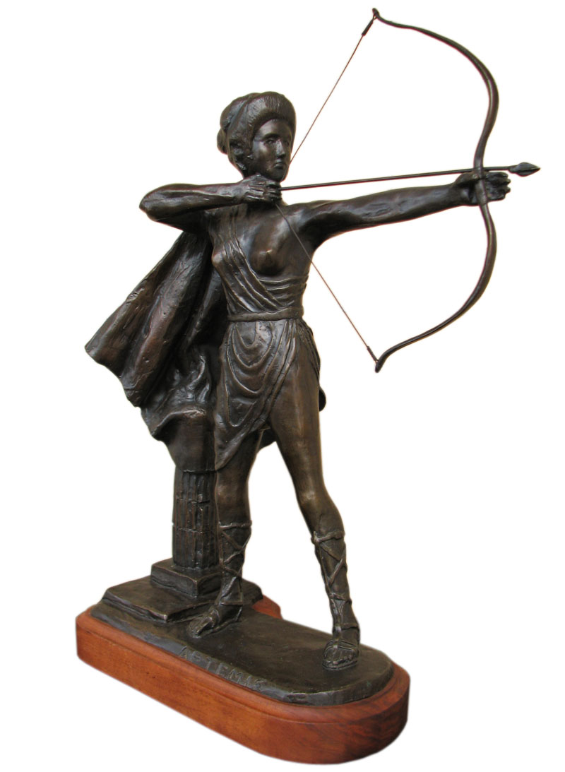 Artemis  Bronze Sculpture F9867
