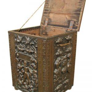 Brass Embossed Box F9903