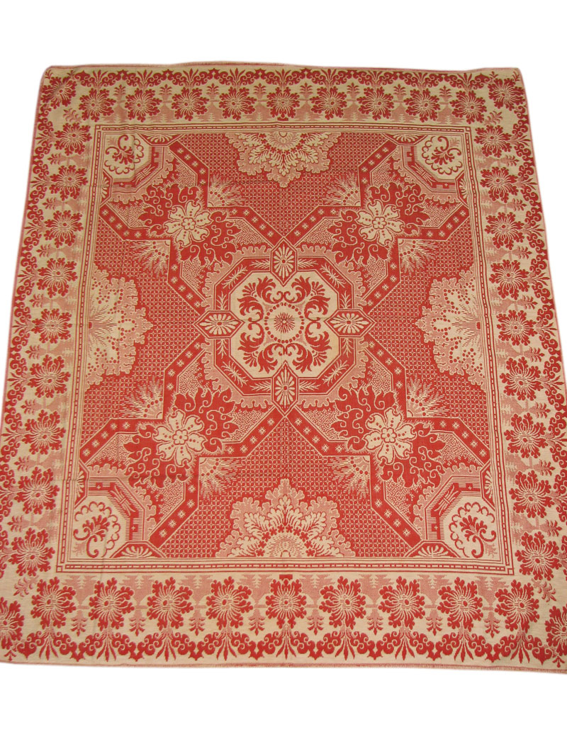 Mid To Late 1800s  Coverlet F9976