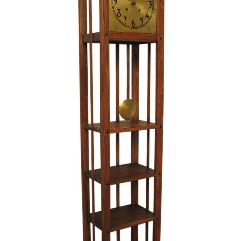 Arts & Crafts  Grandfather Clock F9982