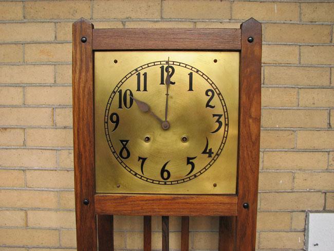 Arts & Crafts Grandfather Clock F9982 - joenevo