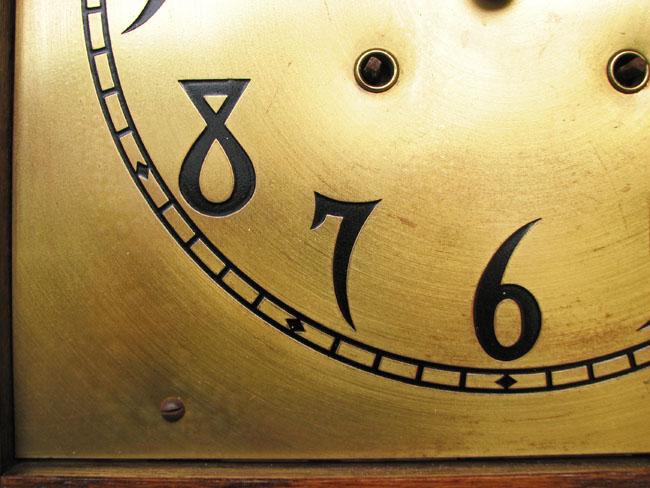 Arts & Crafts  Grandfather Clock F9982