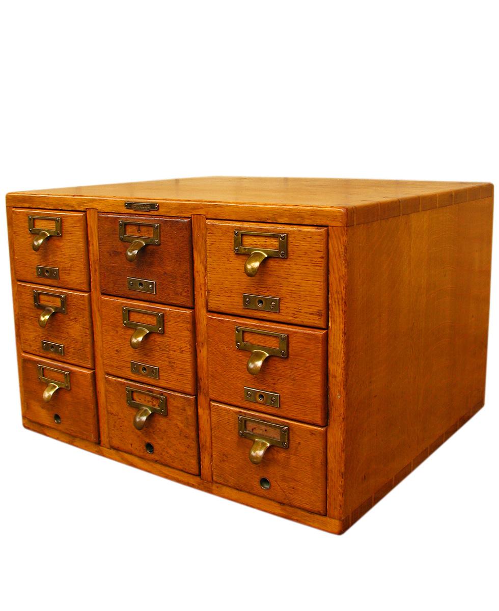 library bureau index card file w1446 1 joenevo. Black Bedroom Furniture Sets. Home Design Ideas