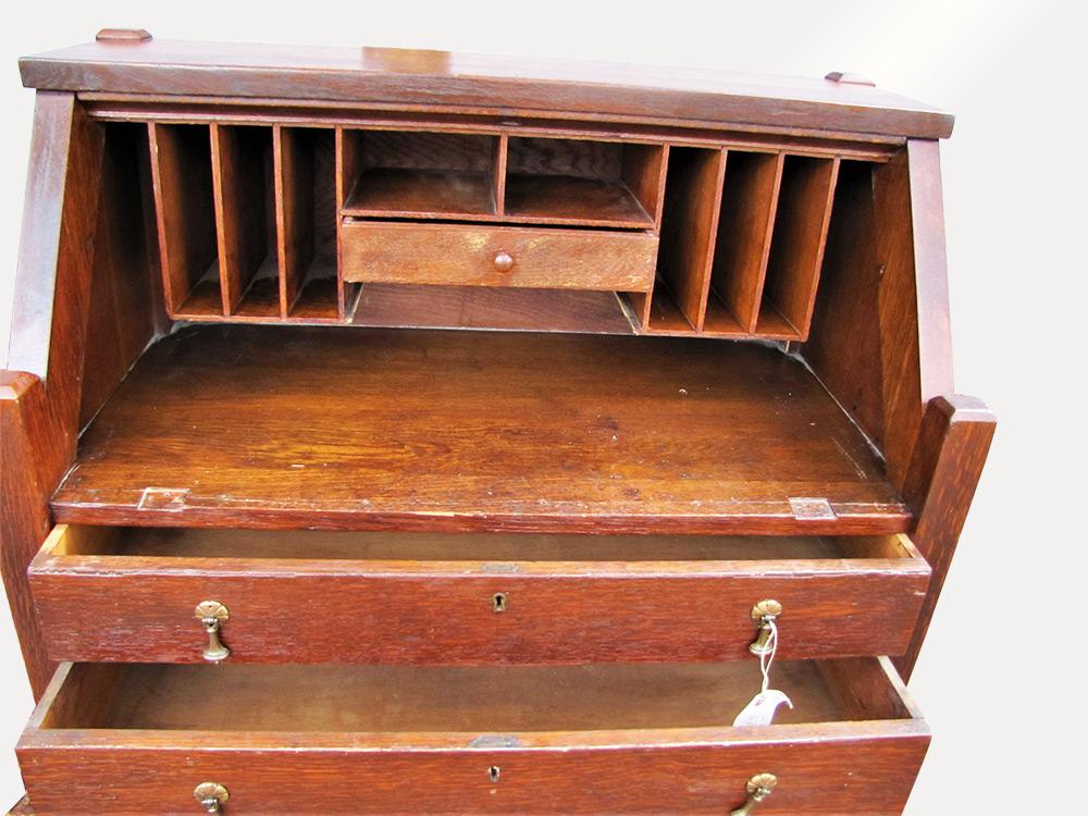 Home Antique Furniture Desks Arts Crafts Desk W5106