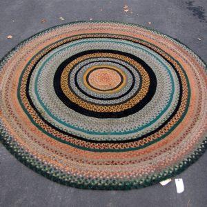 Antique American Braided Rug  |  R6232