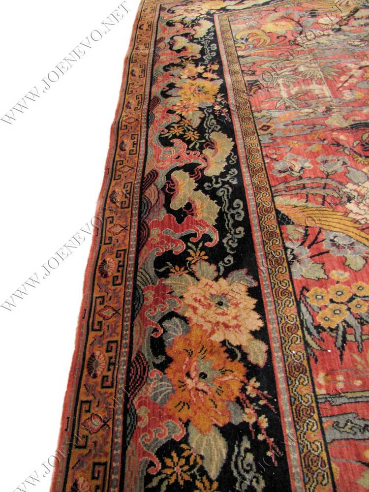 Superb Antique Anglo Persian Wilton Rug rr2716