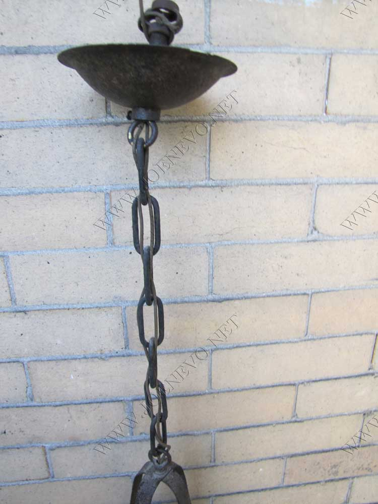 Antique  Arts & Crafts  Hanging  Lantern  |  W2747