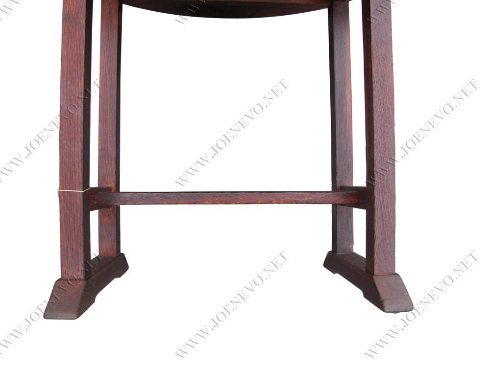 Antique  Mission  Gustav  Stickley  Drop  Leaf  Table  |  W2917