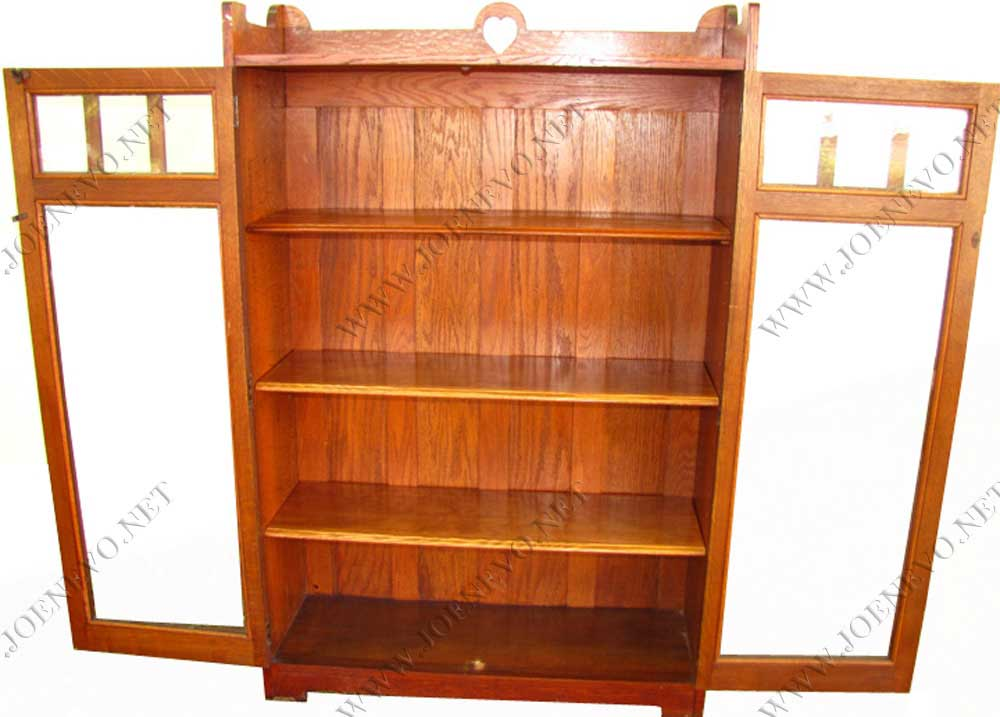 Antique  Stickley Bros  Two  Door  Bookcase  |  W3024