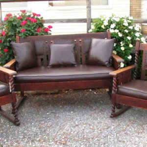 Superb Three Pc. Set Stickley Bros Seating  | W3270
