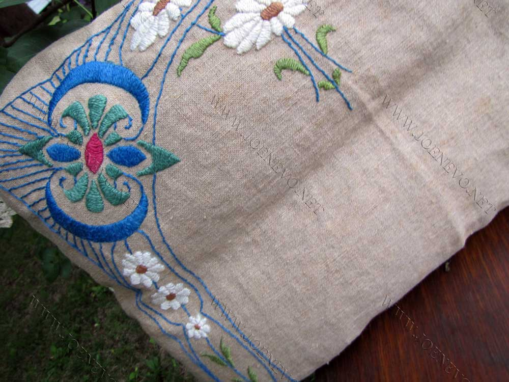 Antique Beautiful Arts & Crafts Pillow  |  W3283