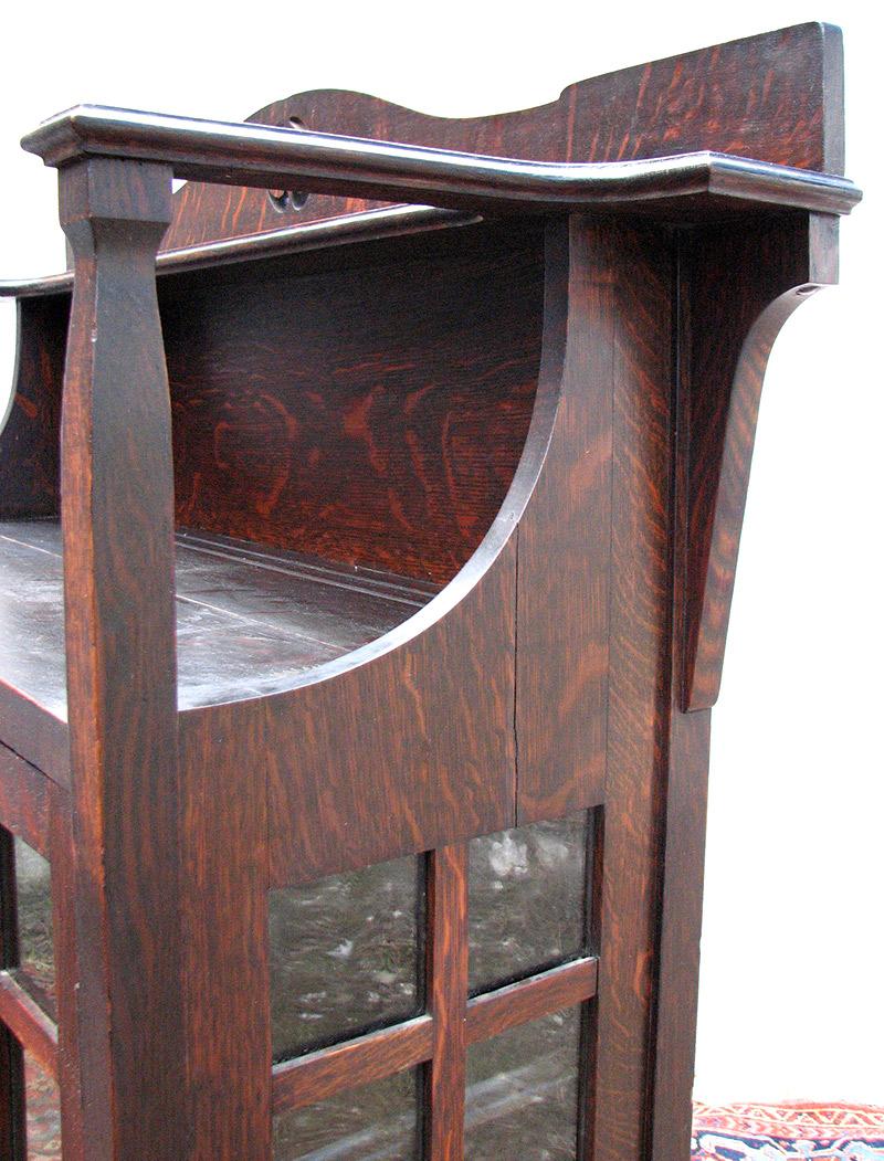 Superb Charles Limbert  China Cabinet Model #412  |  w1933