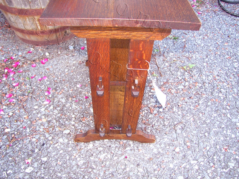 Antique Roycroft  Stand / Book Stand  |  W1972