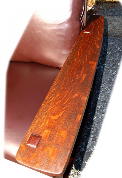 L&jg Stickley  Superb Antique L&jg Stickley  Large And Rare  – Model Number #475 – Arm Rocker  |  w2493