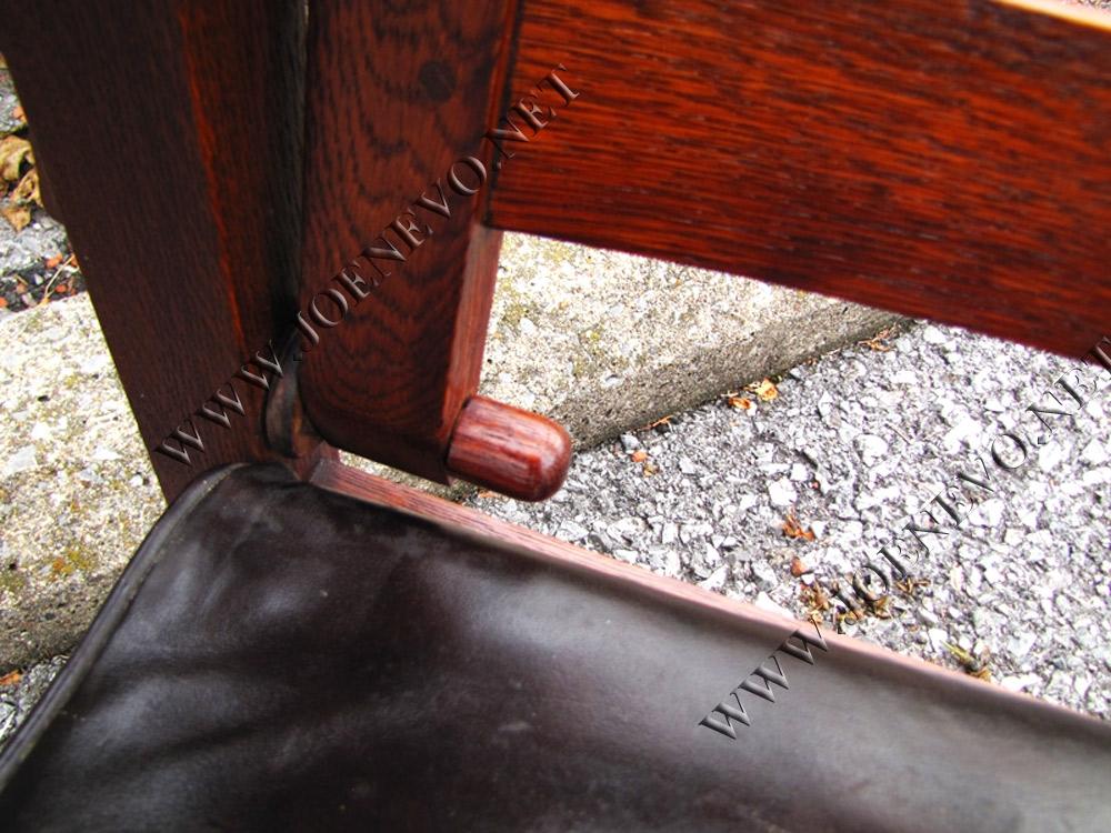 Antique Gustav Stickley  Morris Chair  |  w3056