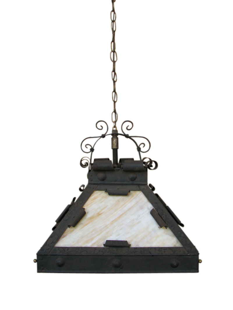 Arts & Crafts  Hanging Lamp  |  F6794
