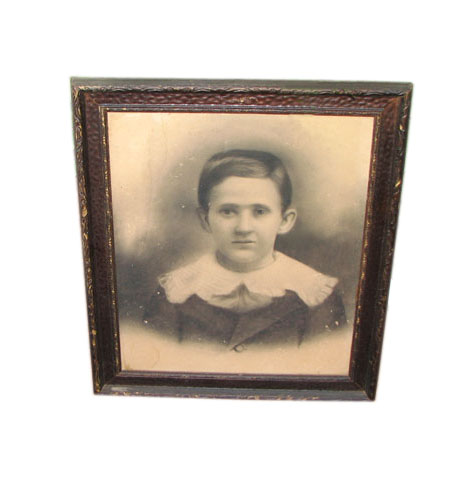 Antique  Frame With Print     F7004
