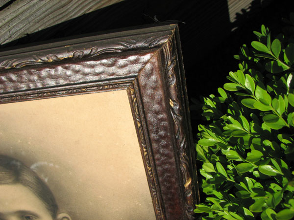 Antique  Frame With Print  |  F7004