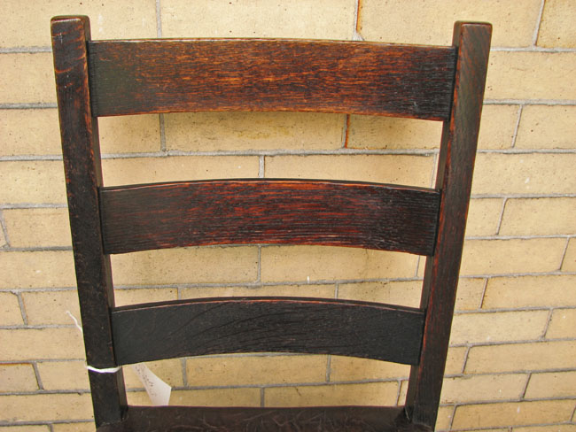 Gustav Stickley  Early Side Chairs  |  F8211