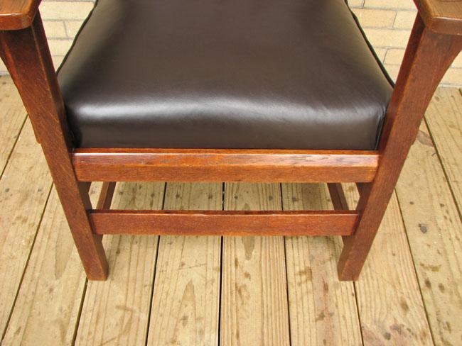 L&jg Stickley  High Back Armchair  |  F8269_1