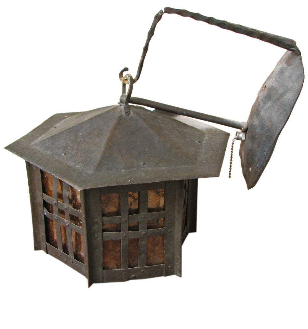 Arts & Crafts  Iron Lantern  |  F9461