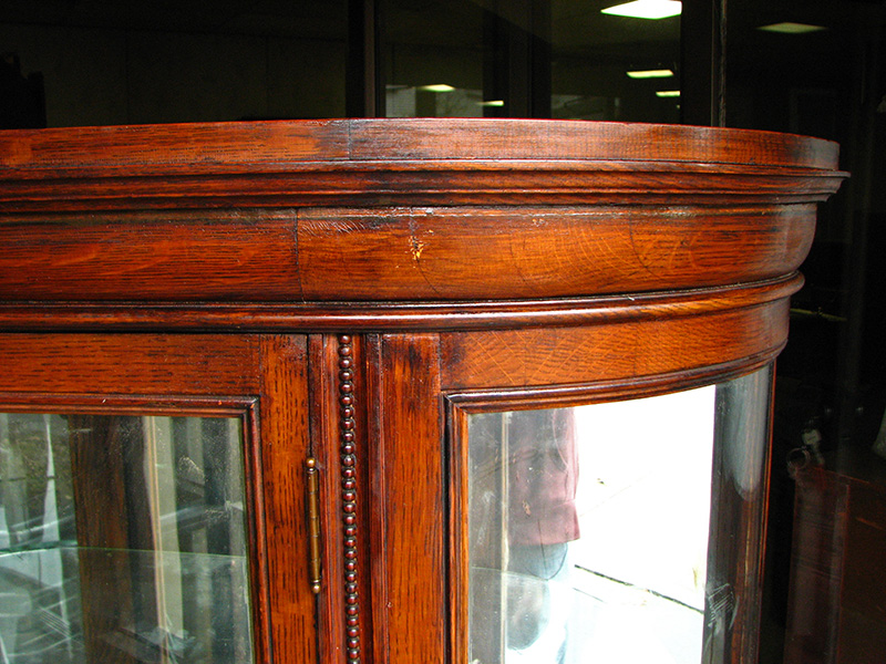 Quarter Oak  China Cabinet  |  F9510