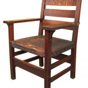 Gustav Stickley  Armchair  |  F9570