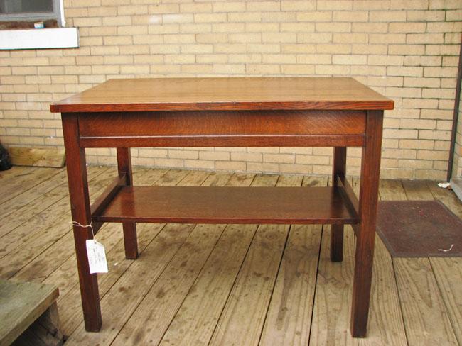 Gustav Stickley  Early Desk  |  F9731