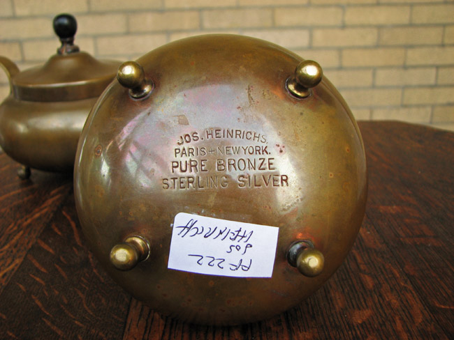 Joseph Heinrichs  Tea Set  |  FF222
