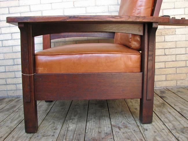 L&jg Stickley  Morris Chair     FF621