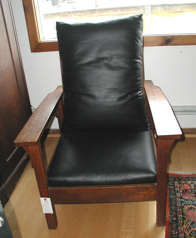 Gustav Stickley Morris Chair F6152