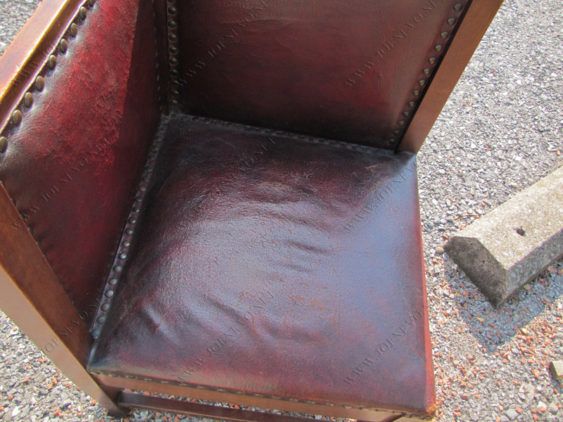 Rare Roycroft Corner Chair | w3054