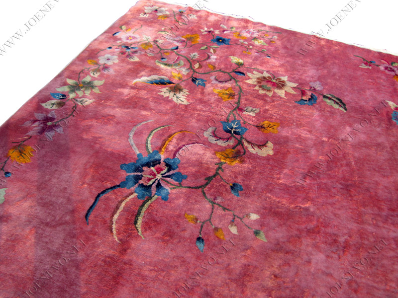 ANTIQUE Chinese hand knotted DECO rug | rr2460