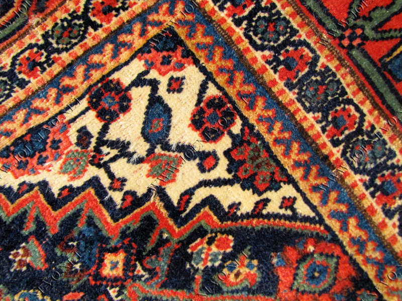 SUPERB Antique PERSIAN KURD rare size BIDJAR rr2785