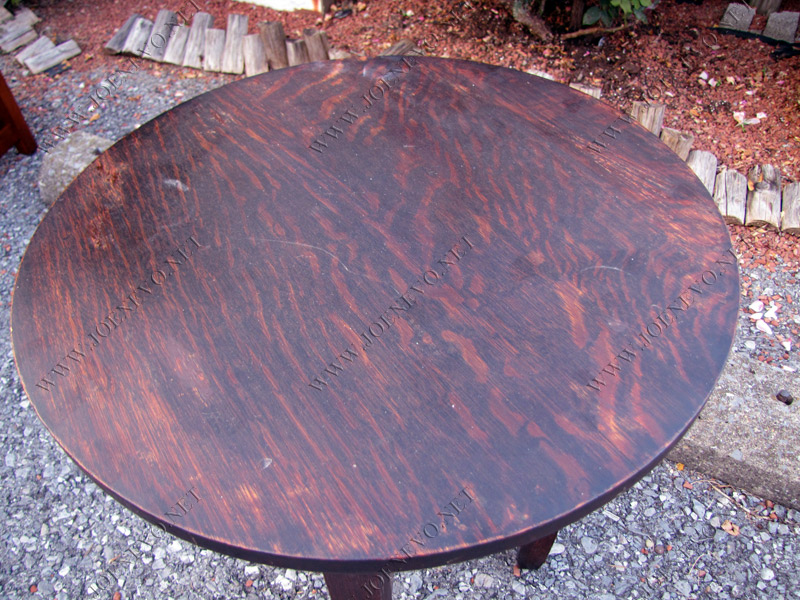 Antique arts@Crafts signed Limbert table w3944
