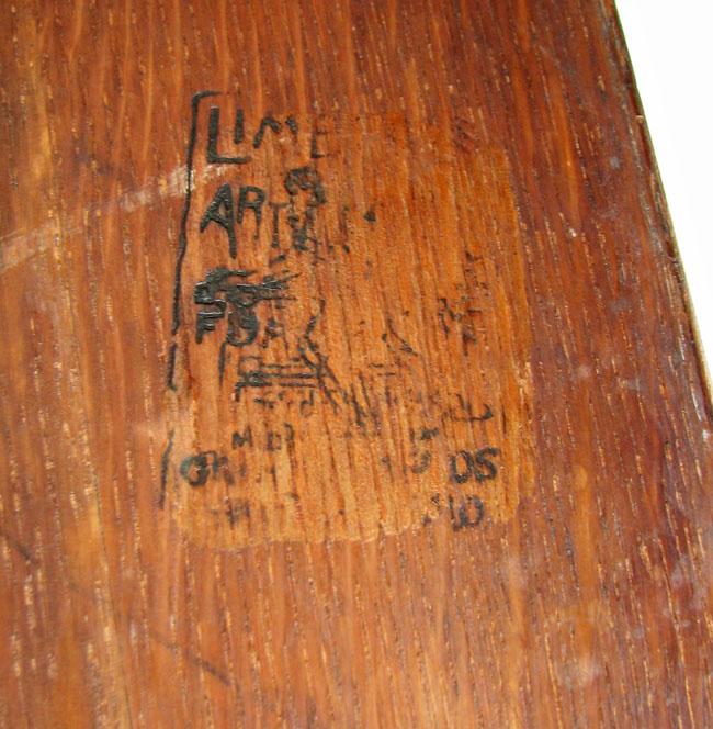Limbert Rare Settle F198