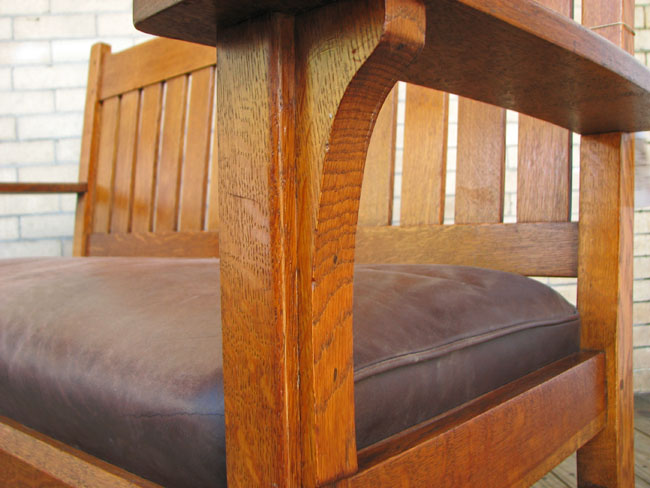 L&jg Stickley Settee F383
