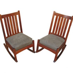 L&jg Stickley Pair Of Rockers F4101