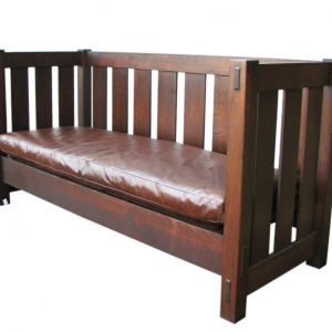 Gustav Stickley Settle F545