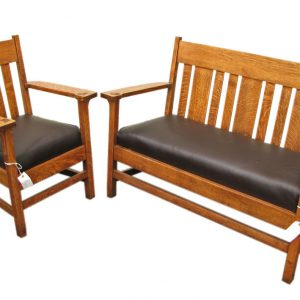 Arts & Crafts Armchair & Settee F7017