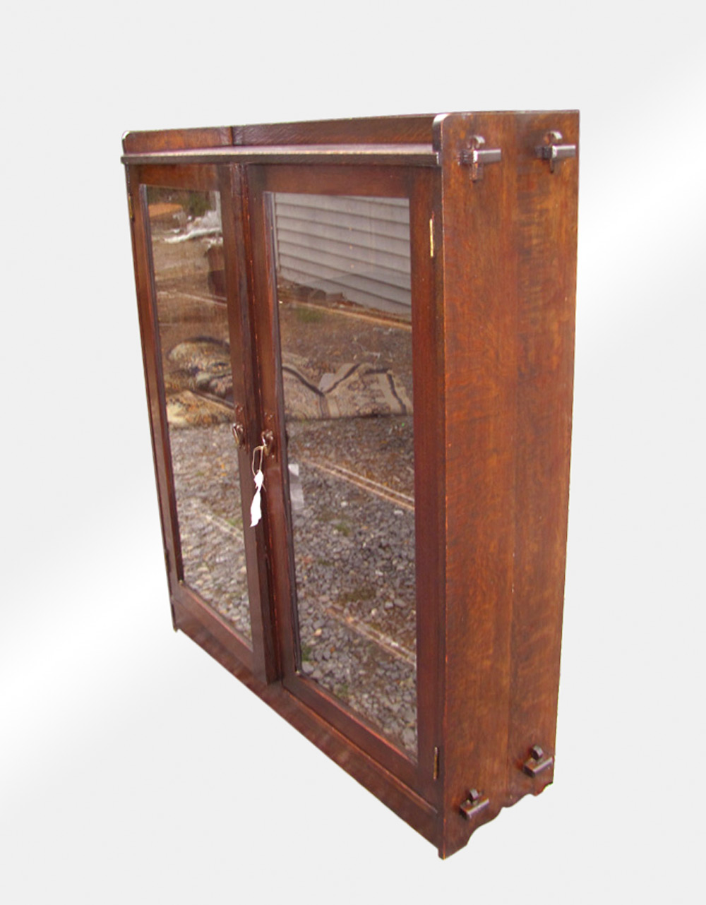 Great Antique Mission Arts Crafts Bookcase W2613