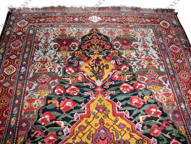 Superb Beautiful Hand Knotted Persian Bachtiary Handmade Oriental Rugs rr2858‎