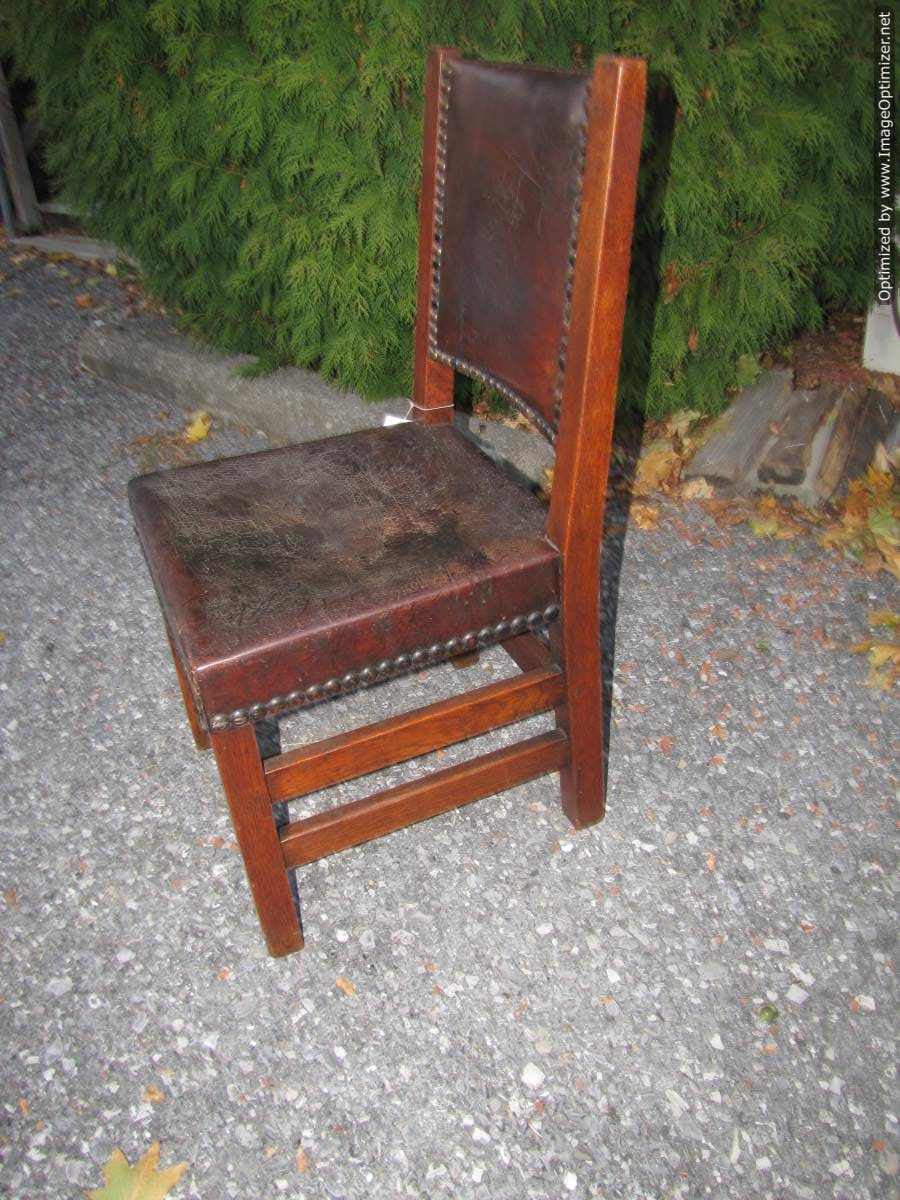Home » Shop » Antique Furniture » Chairs » Early Antique Gustav Stickley  Chair W4465