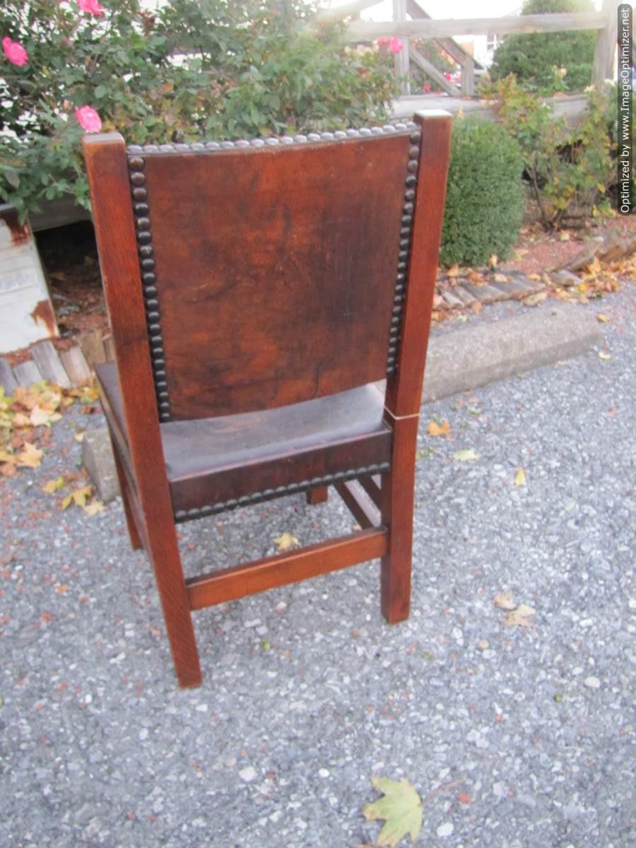 Home » Shop » Antique Furniture » Chairs » Early Antique Gustav Stickley  Chair W4465 - Early Antique Gustav Stickley Chair W4465 - Joenevo