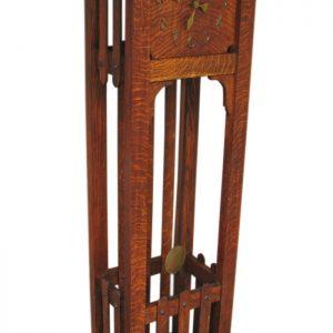 Arts & Crafts  Grandfather Clock F1113