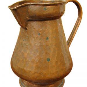 Arts & Crafts  Copper Pitcher F397_4