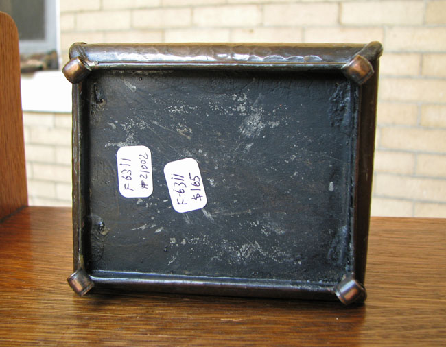 Arts & Crafts Cigarette Box F6311